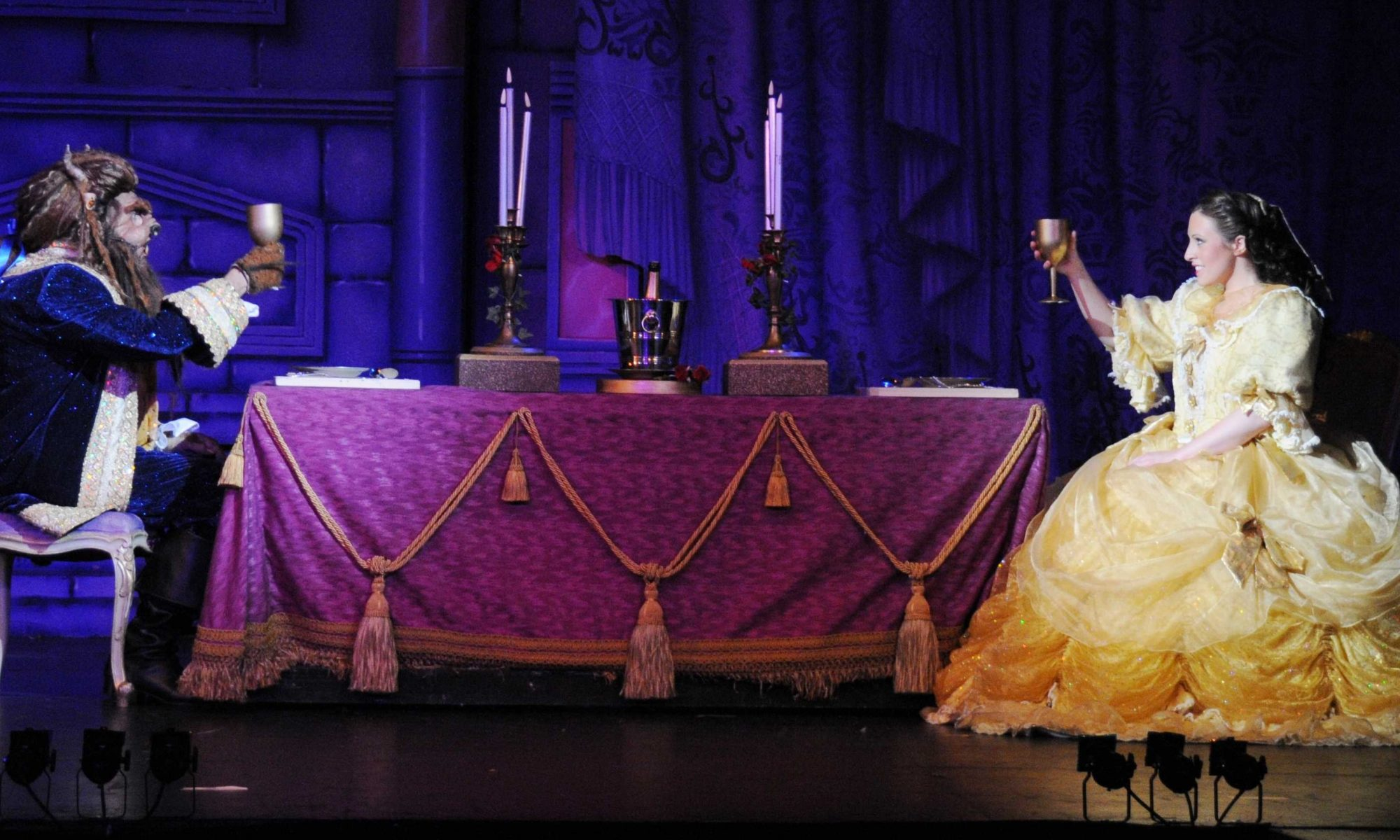 Belle and the Beast costumes by Costume Workshop