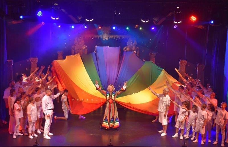Joseph and the amazing technicolor dreamcoat costumes by Costume Workshop